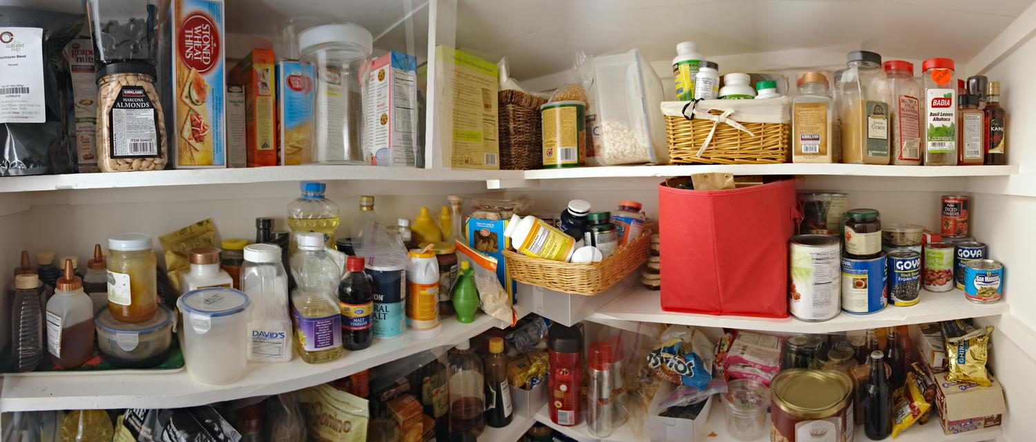 - Panorama inside our pantry -  - taken with Sony DSC-R1 - Tony Karp, design, art, photography, techno-impressionist, techno-impressionism, aerial photography , drone , drones , dji , mavic pro , video , 3D printing - Books -