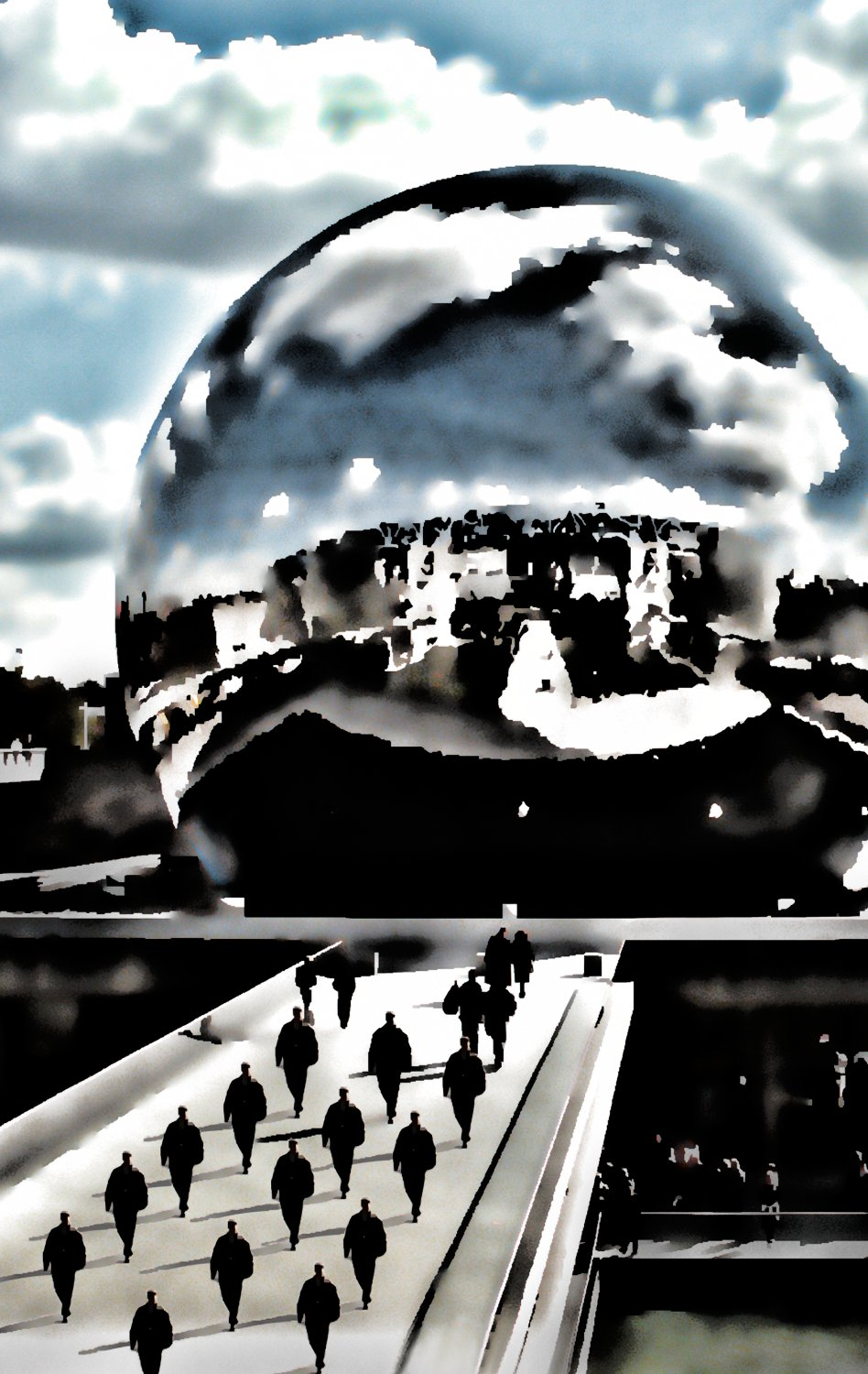 - A tribute to Paris on November 14, 2015 - Paris, eiffel tower - - art  - photography - by Tony Karp