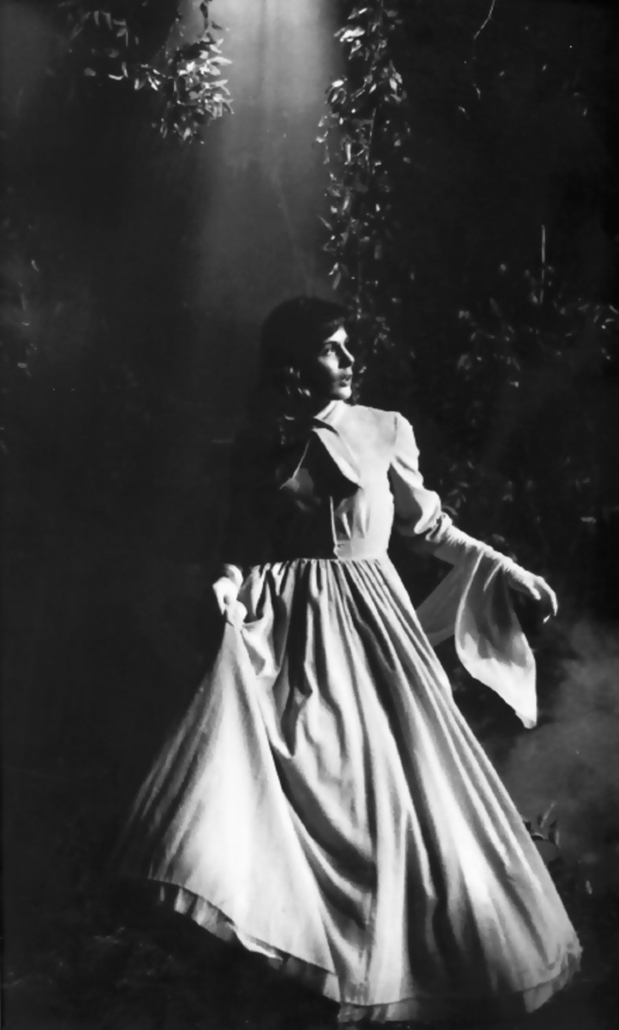 - The Woman in White - I shot this for NBC in 1960, using the available light in the studio. Canon rangefinder camera, 100mm F2.0 lens, 1/30 sec F2.8, Tri-X film. - Tony Karp, design, art, photography, techno-impressionist, techno-impressionism, aerial photography , drone , drones , dji , mavic pro , video , 3D printing - Books -