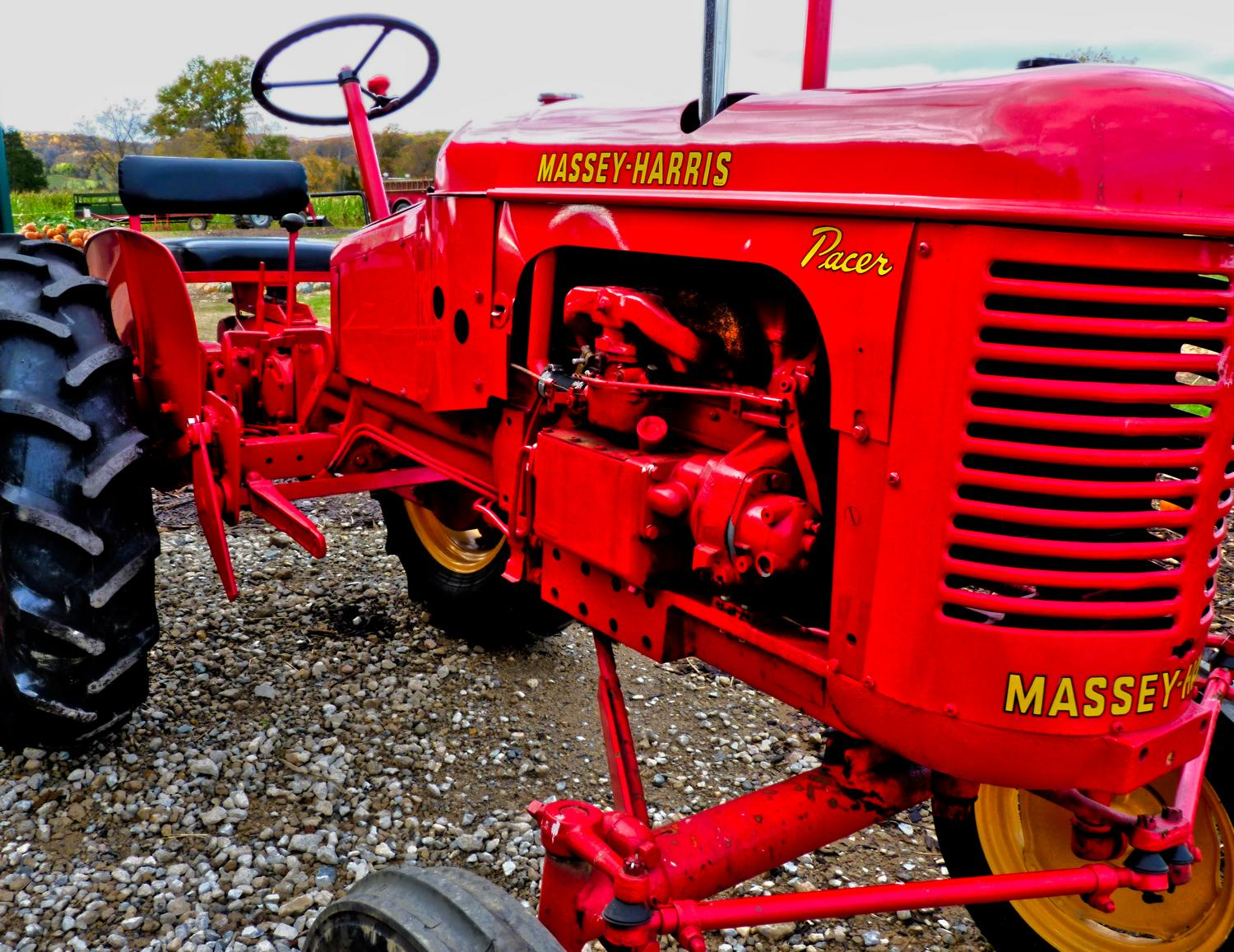 Warrenton, Virginia-  Panasonic DMC-FZ35 - Some vintage tractor porn. - Tony Karp, design, art, photography, techno-impressionist, techno-impressionism, aerial photography , drone , drones , dji , mavic pro , video , 3D printing - Books -