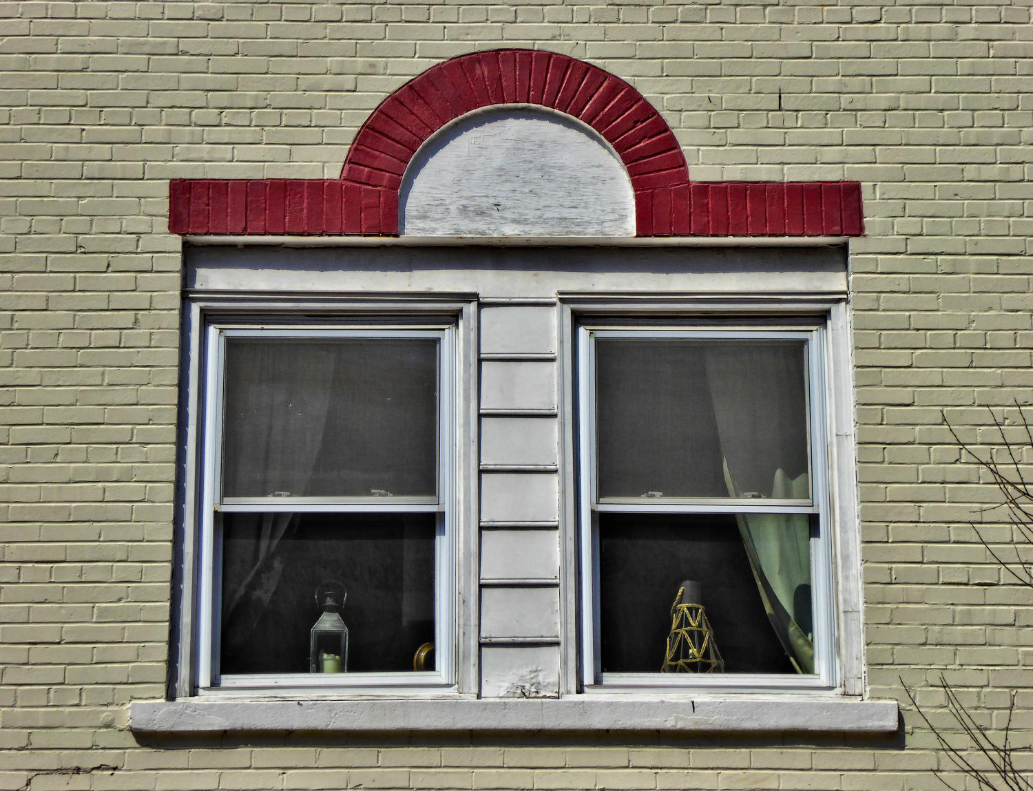 - Old windows with an interesting red detail - Manassas Virginia, Panasonic DMC-ZS40 - Tony Karp, design, art, photography, techno-impressionist, techno-impressionism, aerial photography , drone , drones , dji , mavic pro , video , 3D printing - Books -